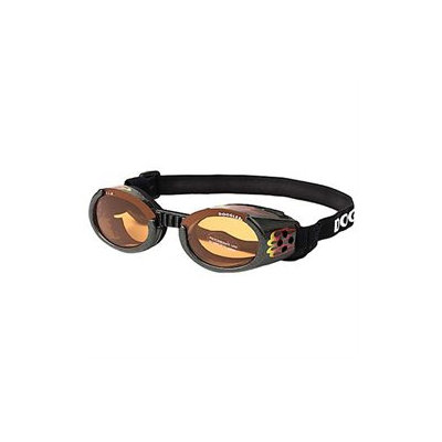 Doggles ILS Lense Dog Goggles in Racing Flames