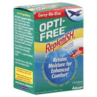 Alcon Opti-Free Replenish Retains Moisture for Enhanced Comfort