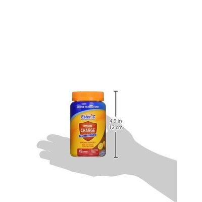 Ester-C Vitamin C, Immune Charge Gummies, 45 Count []