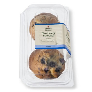 Archer Farms Blueberry Streusel Muffins 2 ct