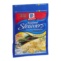 McCormick Seafood Steamers Seasoning & Steaming Bag Lemon Garlic