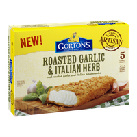 Gorton's Breaded Fish Fillets Roasted Garlic & Italian Herb - 5 CT
