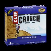 Clif Crunch Bluberry Crisp Granola Bar - 10 CT