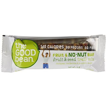 The Good Bean Fruit and No-Nut Bar, Fruit and Seeds Trail Mix, Gluten Free, 40-Gram (Pack of 10)