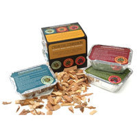 Charcoal Companion Hickory, Mesquite and Apple Wood Chip Sampler Pack 1