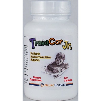 NeuroScience, TravaCor Jr. 120 capsules