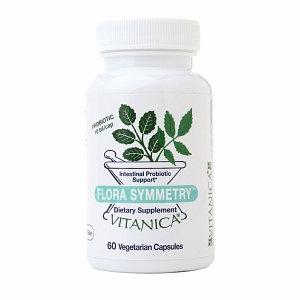 Vitanica Flora Symmetry Intestinal Probiotic Support