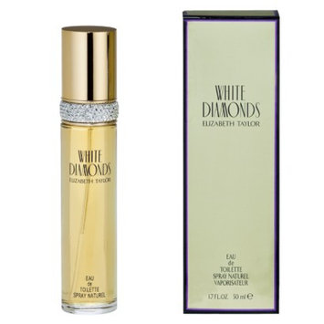 White Diamonds Women's  by Elizabeth Taylor Eau de Toilette - 1.7 oz