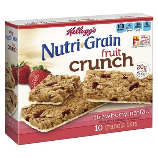 Kellogg's® Nutri-grain® Granola Bars Fruit Crunch Strawberry Parfait