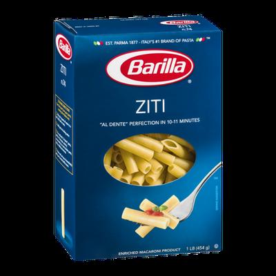 Barilla Pasta Ziti
