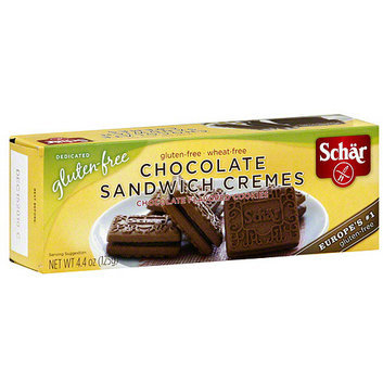 Schar Chocolate Sandwich Cremes Cookies