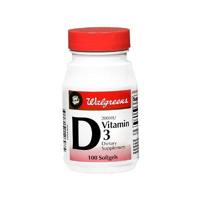 Walgreens Gold Seal Vitamin D 2000Iu Softgels
