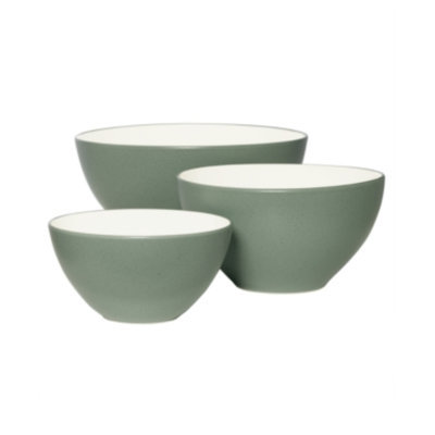 Noritake Dinnerware, Set of 3 Colorwave Green Bowls