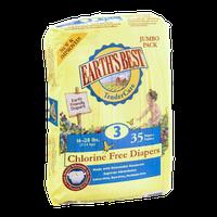 Earth's Best Chlorine Free Diapers 3 16-28 lbs