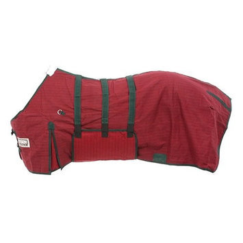 Tough-1 STORM-BUSTER Belly-Wrap Blanket 69 Burgundy