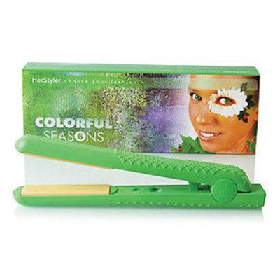 HerStyler Colorful Seasons Ceramic Hair Straightener