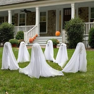 BuySeasons Costumes Ghostly Group Lawn