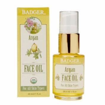 Badger Face Oil, Argan, 1 fl oz