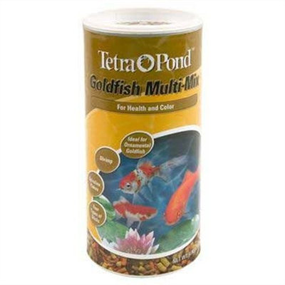 Tetra Pond 16364 Gold Fish Multi Mix, 4.9 Ounce