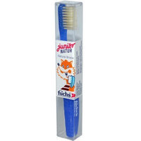 Fuchs Natural Bristle Toothbrushes - Jr. Child, Medium, 10 Units / 1 ea