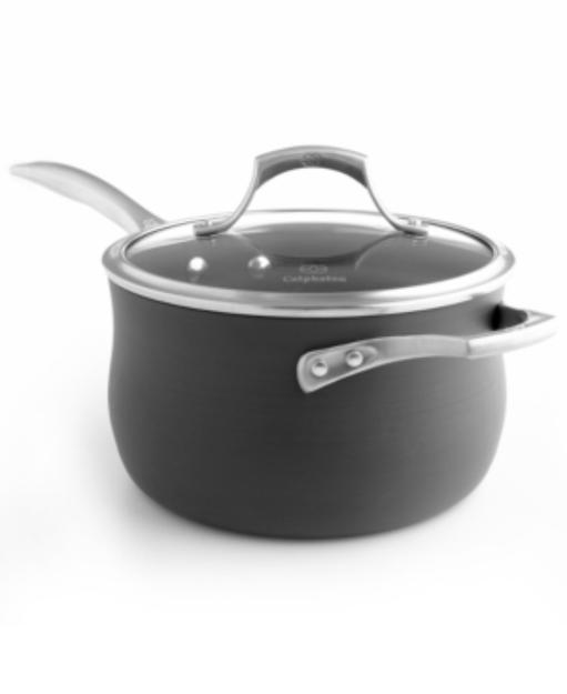 Calphalon Unison Nonstick 4 Quart Sauce Pan with Lid