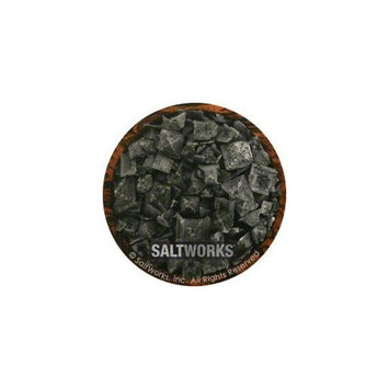 Saltworks Cyprus Black Lava Sea Salt - 9 lbs.