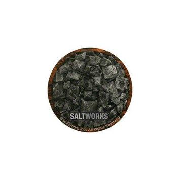 Saltworks Cyprus Black Lava Sea Salt - 9 lbs.