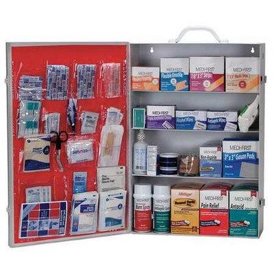 MEDI-FIRST 734M1 First Aid Kit, Bulk, White,34 Pcs,200 Ppl