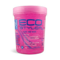 Eco Styler ECOCO Eco Style Gel, Pink, 32 Ounce