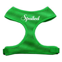 Mirage Pet Products 7025 XLEG Spoiled Design Soft Mesh Harnesses Emerald Green Extra Large