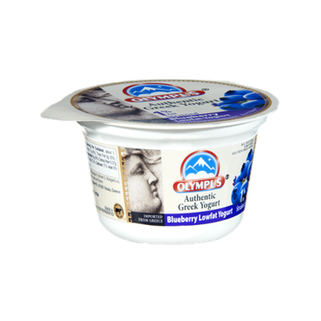 Olympus Blueberry Lowfat Authentic Greek Yogurt