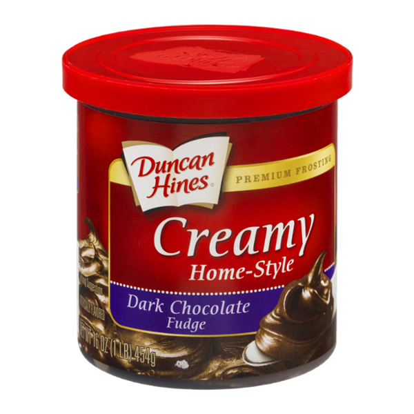 Duncan Hines Frosting Creamy Home-Style Dark Chocolate Fudge