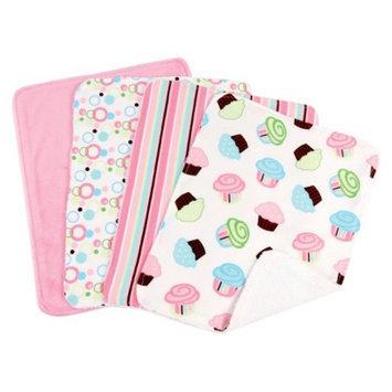 Trend Lab 8 Pc. Bib and Burp Cloth Set - Cupcake by Lab