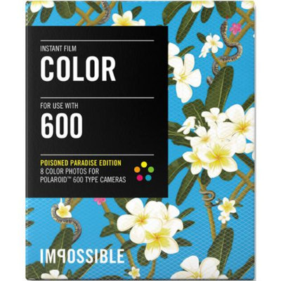 Impossible PRD3290 Color Instant Film (Poison Paradise Edition - Frangipani) for 600-Type Cameras & Instant Lab
