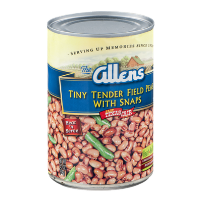 The Allens Tiny Tender Field Peas with Snaps