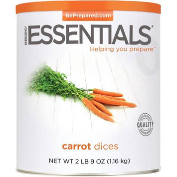 Emergency Essentials Food Carrot Dices, 41 oz