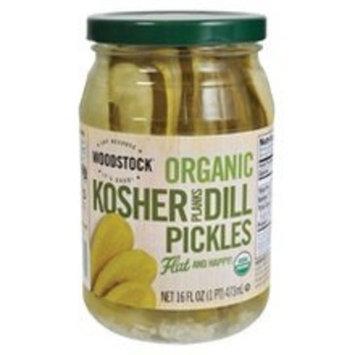 Woodstock Farms Kosher Dill Pickles, Planks (12x16 OZ)
