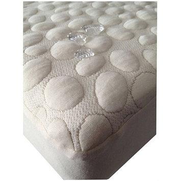 My Little Nest Pebbletex Quilted Organic Cotton Waterproof Crib Mattress Pad