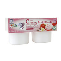 Gerber Graduates Creamy Fruit Blends Dairy & Fruit Snack Strawberry Vanilla