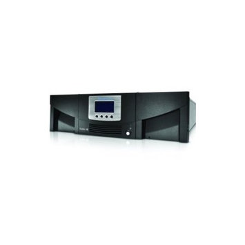 QUANTUM Scalar i40 Library two IBM LTO-6 tape drives 25 slots 8GB native Fibre Channel (LSC14-CB6J-2