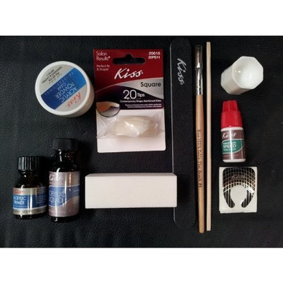 kiss complete acrylic sculpture kitstarter nail kit with