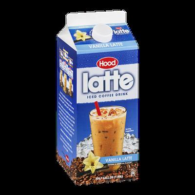 Hood Latte Iced Coffee Drink Vanilla Latte