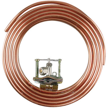 Ice Maker Hook-Up Kits 15-Ft Kit with Drill-Type Valve