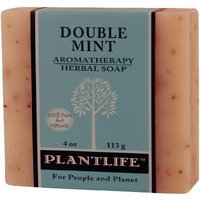 Double Mint Aromatherapy Herbal Soap - 4 oz