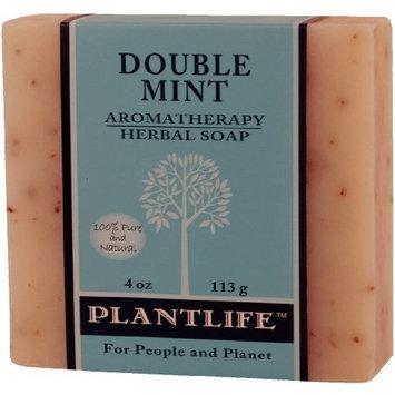 Double Mint Aromatherapy Herbal Soap - 4 oz