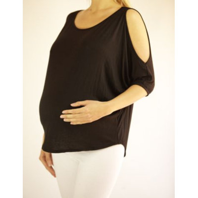 Mommylicious Maternity Cold shoulder dolman top
