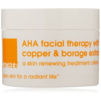 Lather HER AHA Facial Therapy with Copper and Borage Extract, 1-Ounce Jar