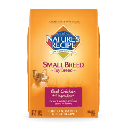 Nature's Recipe NATURE'S RECIPEA Small Breed Toy Breed Adult Dog Food