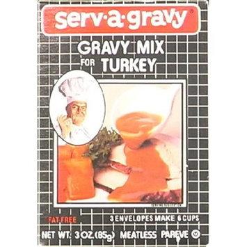 Serv-a-gravy Serv A Gravy Gravy Mix Turkey 3-Ounce Boxes -Pack of 12