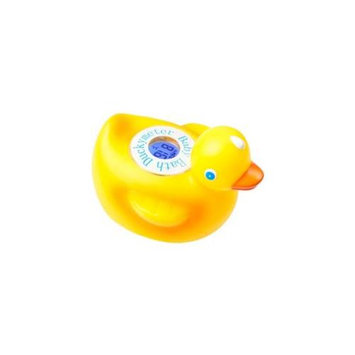 Ozeri DM1 Baby Bath Floating Duck Toy and Tub Thermometer